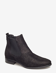 Woms Boots - chelsea boots - black metallic
