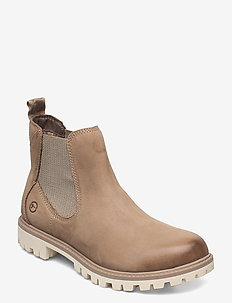 Woms Boots - chelsea boots - taupe