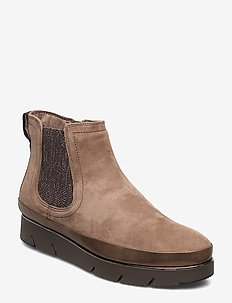 Woms Boots - TAUPE SUEDE