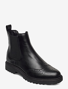 Woms Boots - chelsea boots - black leather