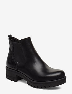 Woms Boots - BLACK/ STR.