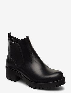 Woms Boots - ankelboots med klack - black uni