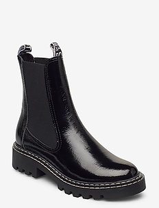 Woms Boots - chelsea boots - black patent