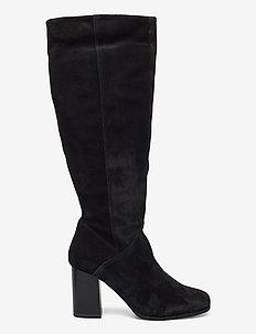 Woms Boots - langskaftede - black
