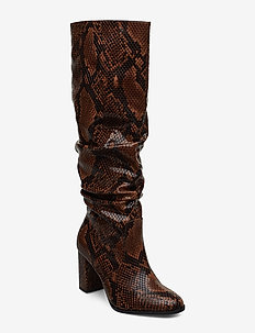 Woms Boots - langskaftede - terra snake