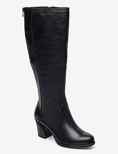 Woms Boots - höga stövlar - black uni