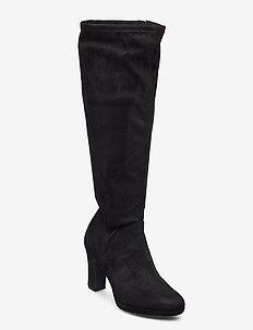 Woms Boots - pitkävartiset saappaat - black