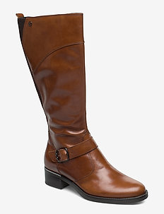 Boots - lange stiefel - cuoio