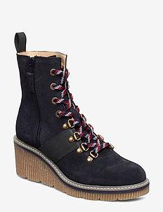 Boots - korolliset nilkkurit - navy