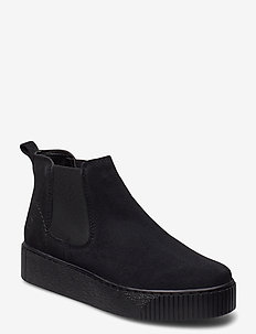 Woms Boots - flat ankle boots - black