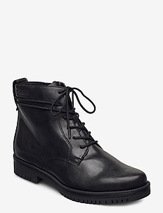 Woms Boots - veterschoenen - black matt