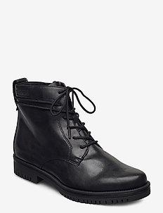 Woms Boots - snörskor - black matt
