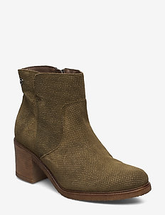 Woms Boots - OLIVE