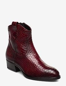 Woms Boots - korolliset nilkkurit - bordeaux