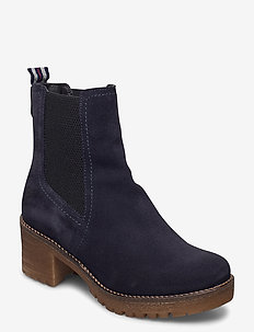 Woms Boots - ankle boots with heel - navy
