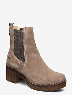 Woms Boots - ankle boots with heel - taupe