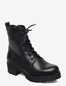 Woms Boots - korolliset nilkkurit - black