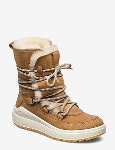 Woms Boots - tasapohjaiset nilkkurit - cuoio