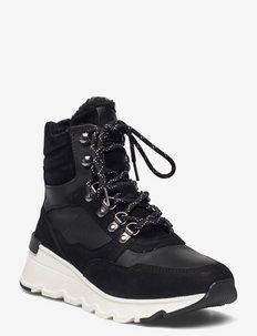 Woms Boots - korkeavartiset tennarit - black