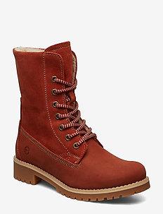 Boots - tasapohjaiset nilkkurit - rust