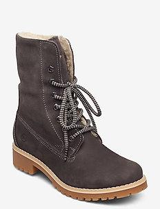 Woms Boots - tasapohjaiset nilkkurit - anthracite