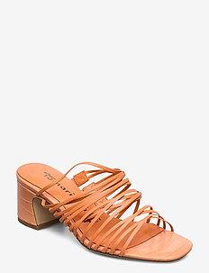 Woms Slides - mules & slipins - peach neon