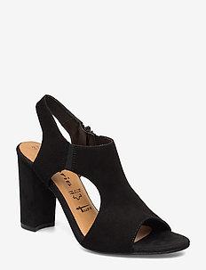 Woms Sandals - heeled sandals - black