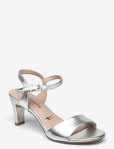 Woms Sandals - sandalen met hak - silver