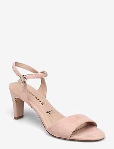 Woms Sandals - sandalen met hak - powder