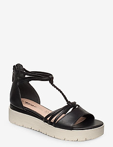 Woms Sandals - wedges - black uni