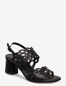Woms Sandals - korolliset sandaalit - black