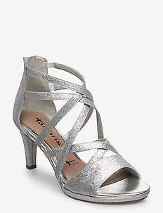 Woms Sandals - korolliset sandaalit - silver glam