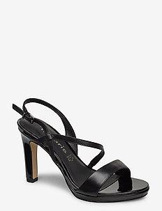 Woms Sandals - hoge sandalen - black
