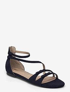 Woms Sandals - flat sandals - navy