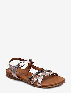 Woms Sandals - ROSE METALLIC
