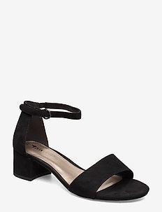 Woms Sandals - høyhælte sandaler - black