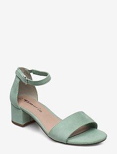 Woms Sandals - høyhælte sandaler - mint