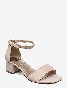 Woms Sandals - høyhælte sandaler - nude
