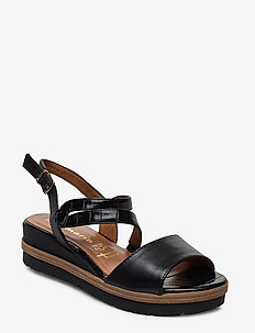 Woms Sandals - wedges - black uni