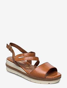 Woms Sandals - wedges - sunset