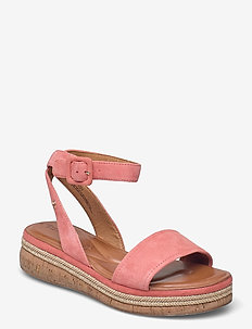 Woms Sandals - flade espadrillos - candy
