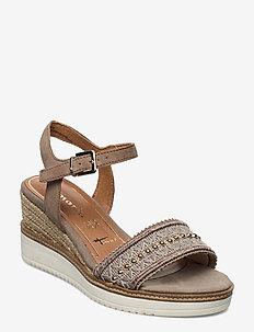 Woms Sandals - korolliset espadrillot - mud suede