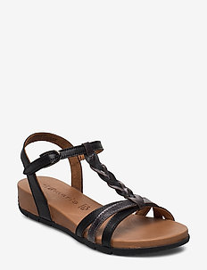 Woms Sandals - matalat sandaalit - black/pewter