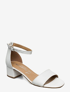 Woms Sandals - WHITE LEATHER