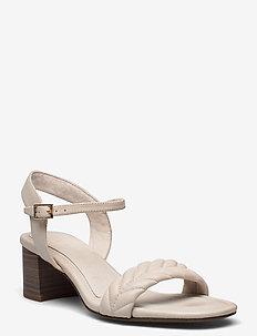 Woms Sandals - heeled sandals - cream