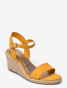 Woms Sandals - højhælede espadrillos - mango