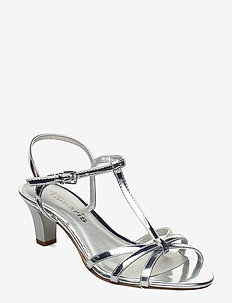 Woms Sandals - korolliset sandaalit - silver