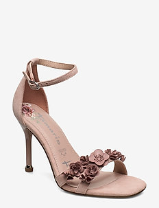 Woms Sandals - heeled sandals - old rose
