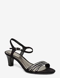 Woms Sandals - BLACK/STUDS