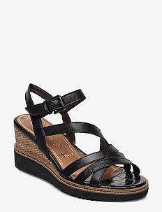 Woms Sandals - wedges - black